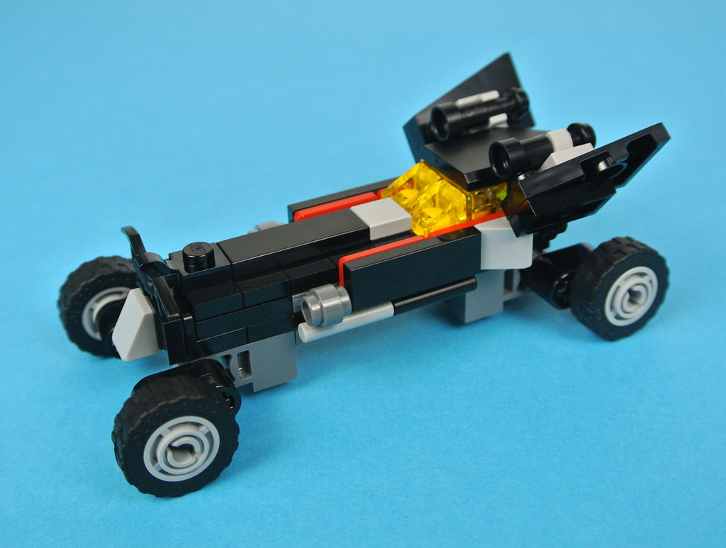 mini lego batmobile instructions