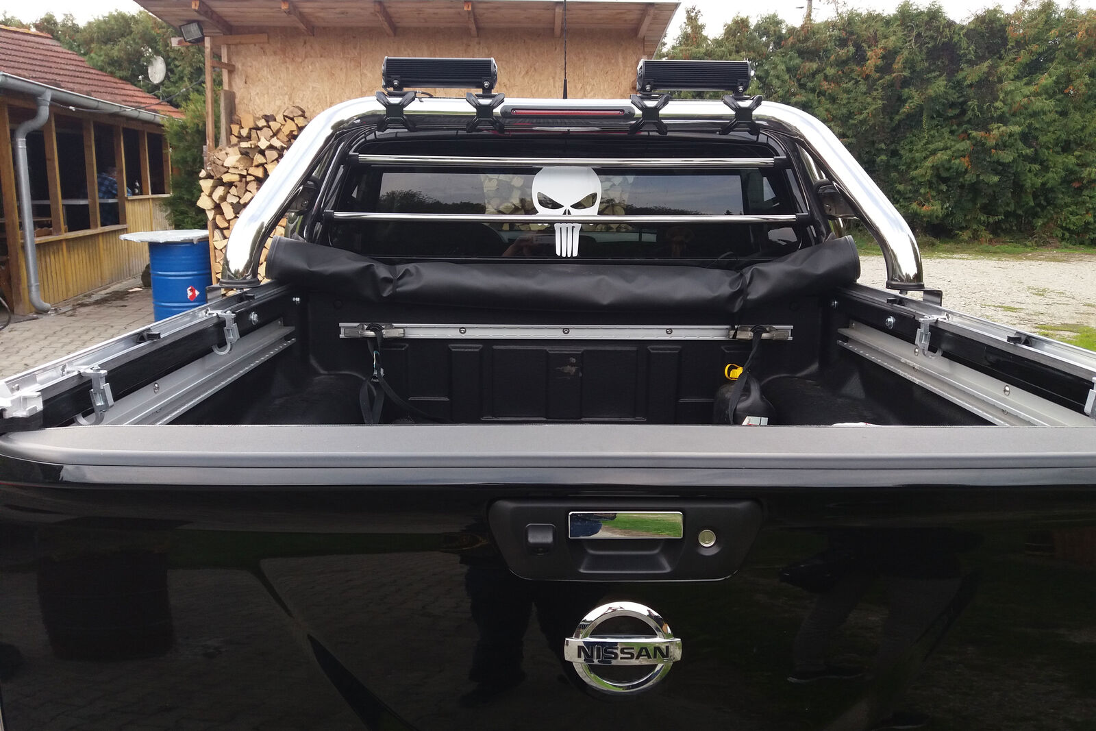 nissan navara np300 soft tonneau cover fitting instructions