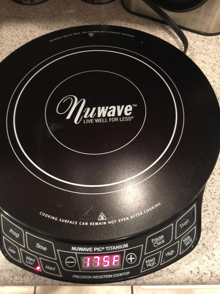 nuwave induction cooktop instructions