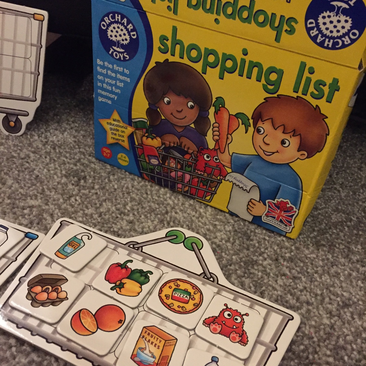 orchard toys shopping list instructions