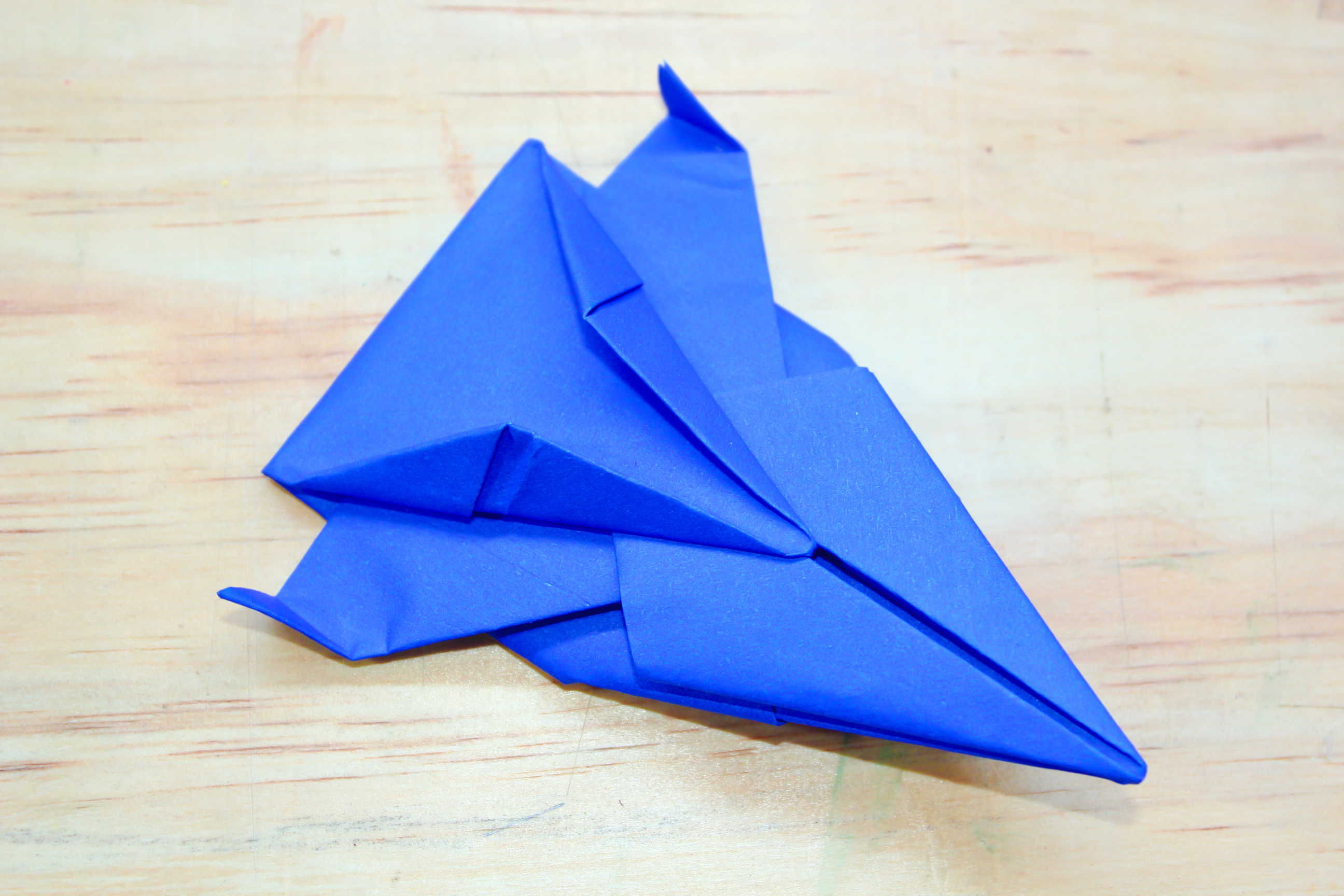 origami rocket ship instructions