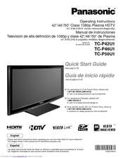 panasonic viera operating instructions
