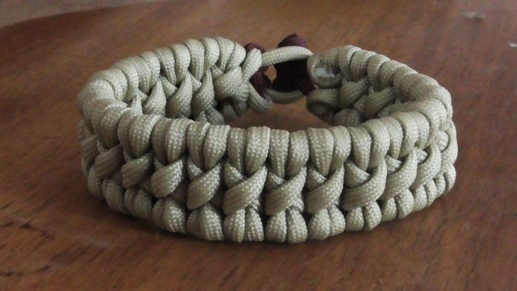 paracord bracelet instructions without buckle