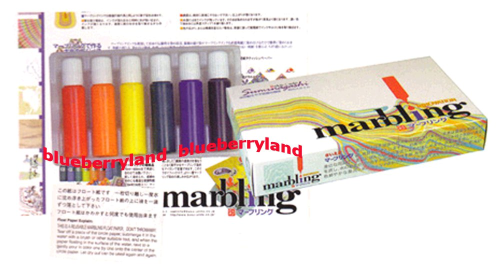 pebeo marbling ink instructions