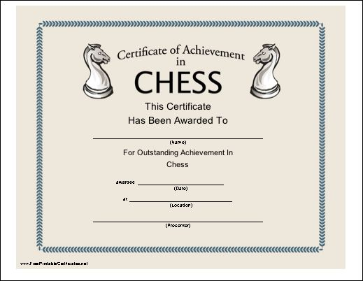 printable instructions on how to play chess