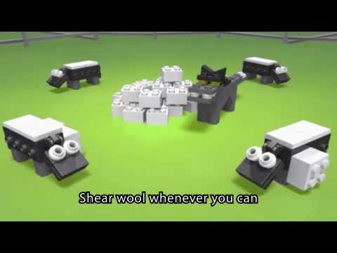 shave a sheep lego game instructions
