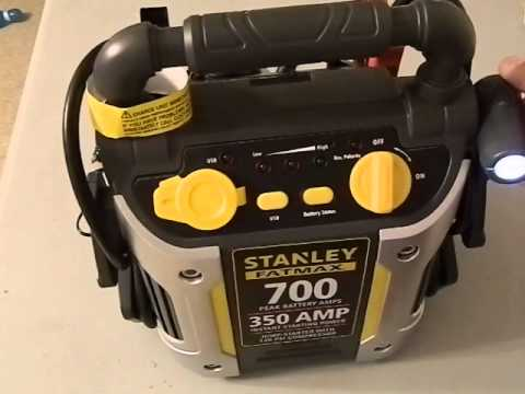 stanley fatmax 700 jump starter instructions