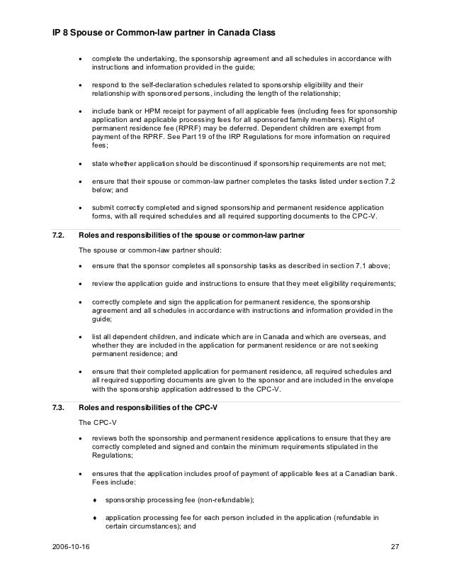 statutory declaration of common law union canada instruction guide