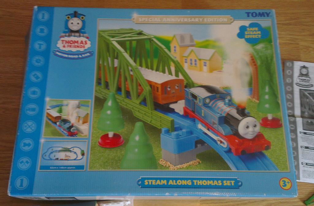 steam along thomas set instructions