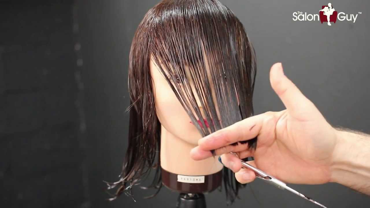 step by step hair cutting instructions