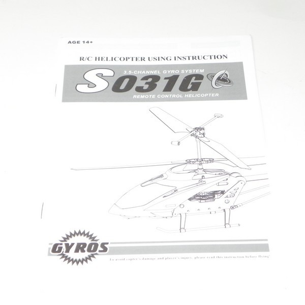 tornado rc helicopter instructions