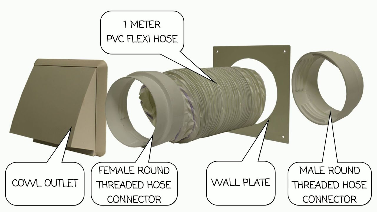 tumble dryer vent installation instructions